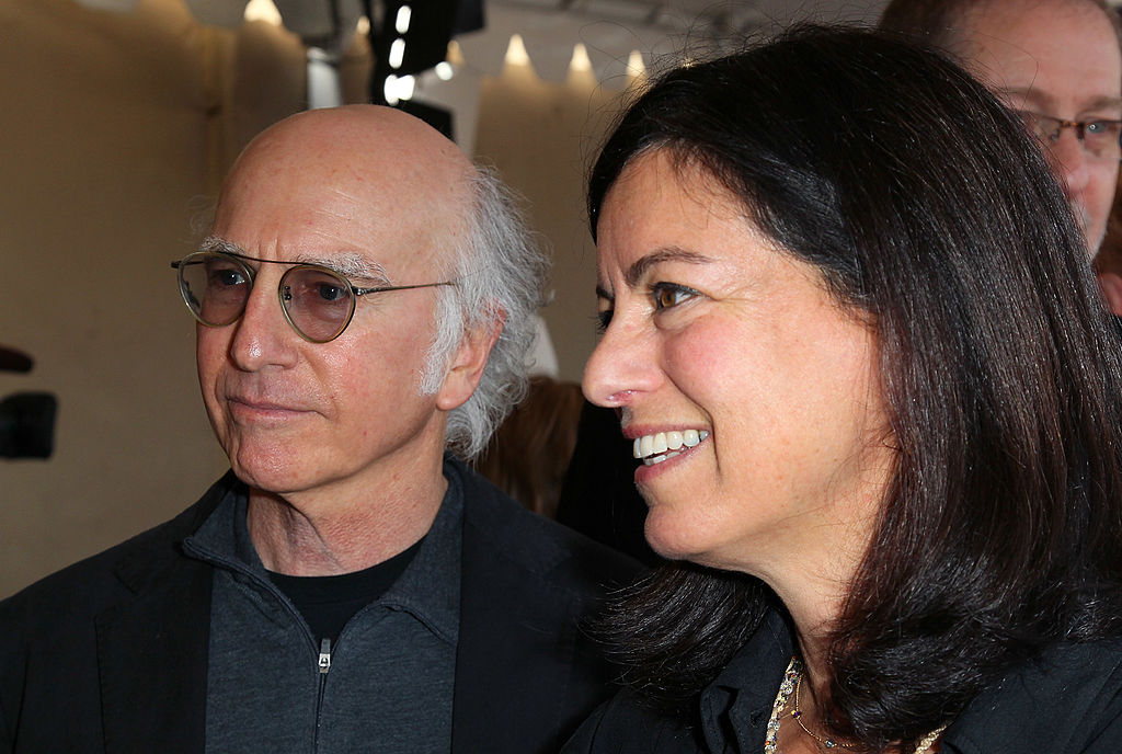 Larry David and his former wife, Laurie David