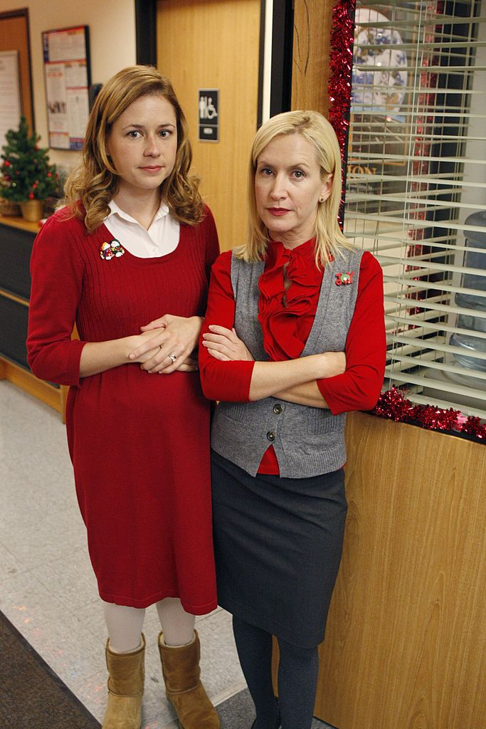 Pam Beesley and Angela Martin of 'The Office'