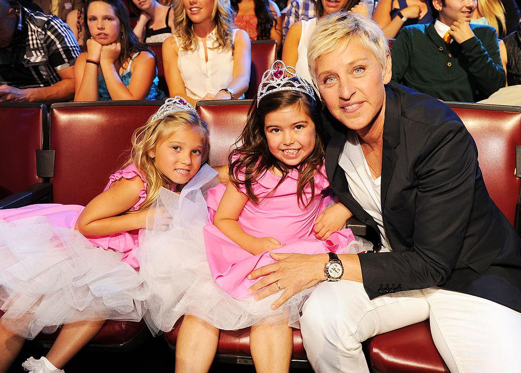 Rosie, Sophia Grace, and Ellen DeGeneres