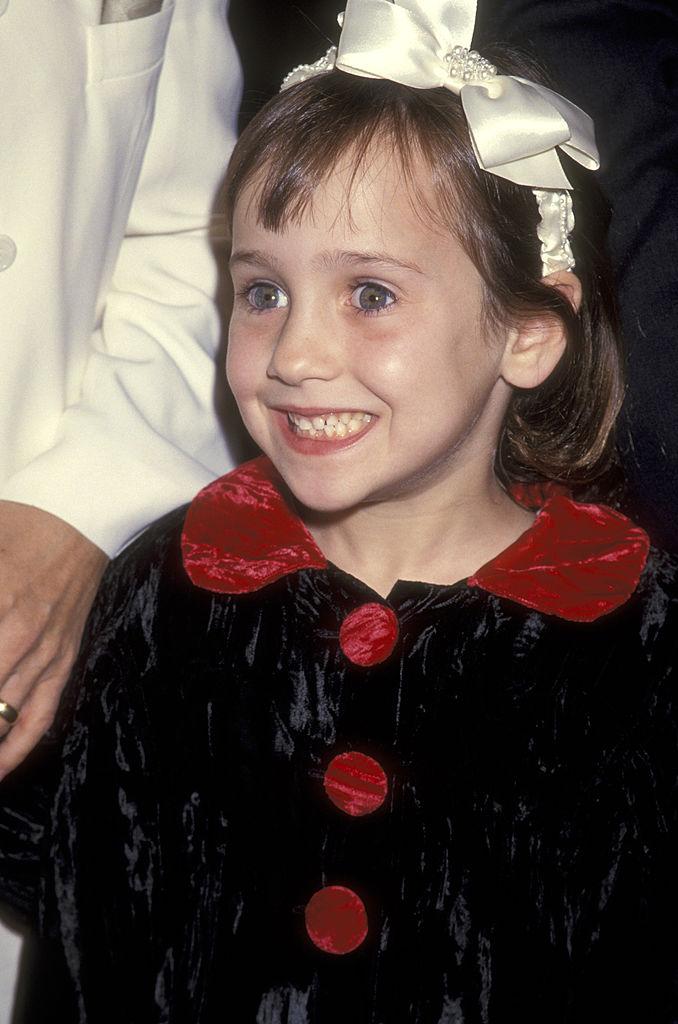 Actress Mara Wilson in 1993