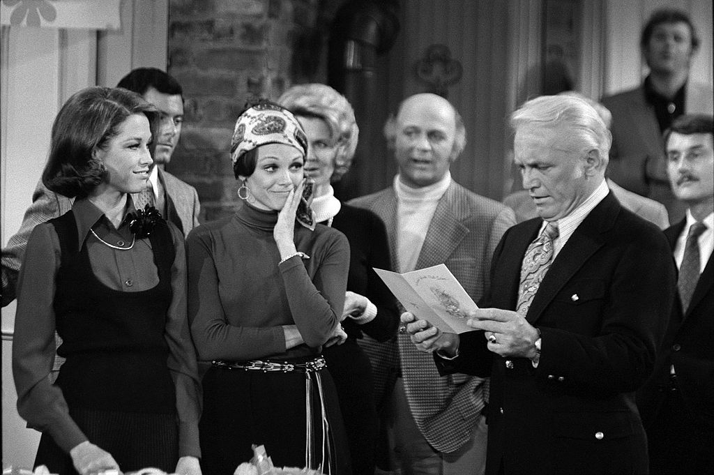 A scene from 'The Mary Tyler Moore Show', 1972