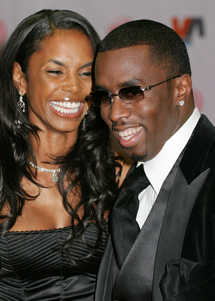 Kim Poter and Diddy