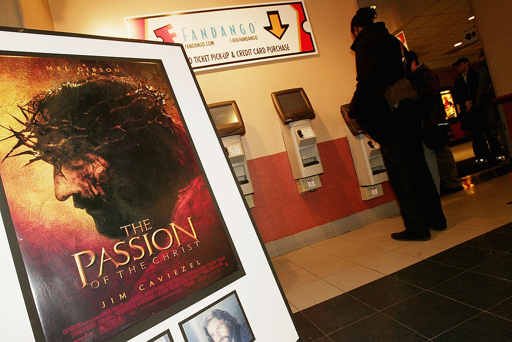 'The Passion of the Christ' opening in New York City, 2004