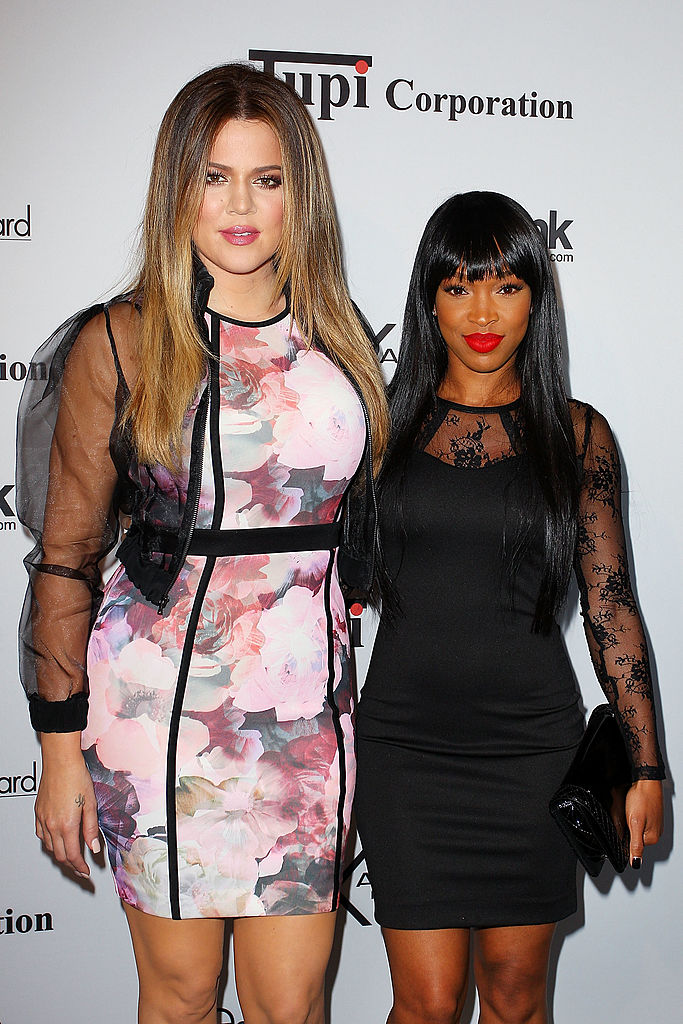 Malika Haqq and Khloe Kardashian