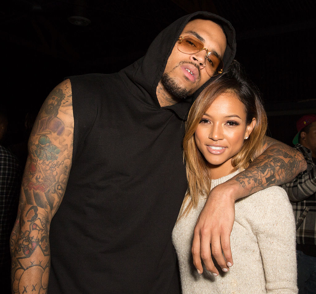 Chris Brown Gets Called Out After Commenting On Instagram Post Featuring His Ex Karrueche Tran