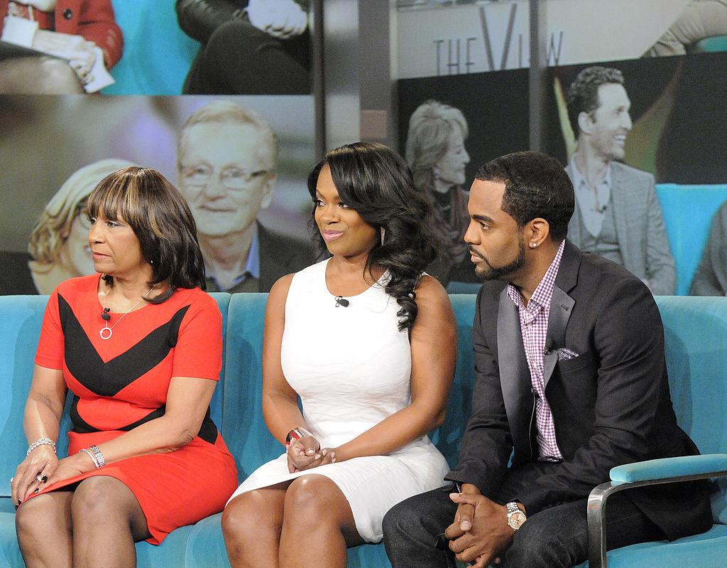 Mama Joyce, Kandi Burruss, and Todd Tucker