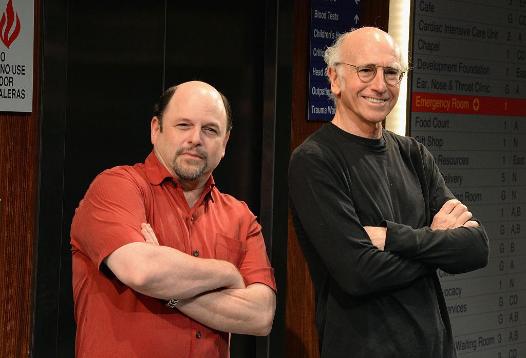 Jason Alexander and Larry David
