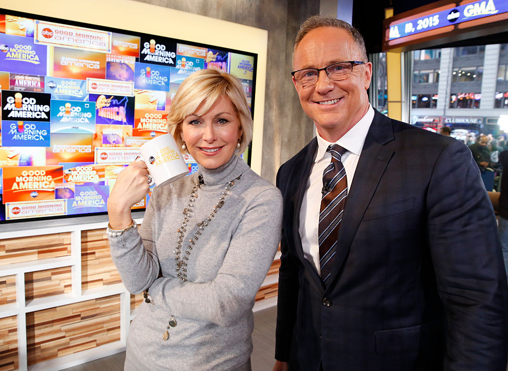 Lisa McRee and Kevin Newman anchored 'Good Morning America' from 1997 - 1999