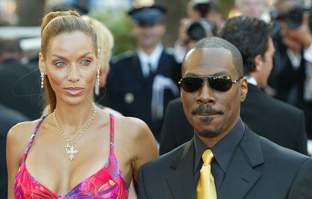 Nicole Murphy and Eddie Murphy