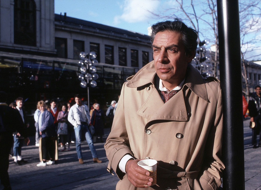 Jerry Orbach as Lennie Briscoe in 'Law and Order'