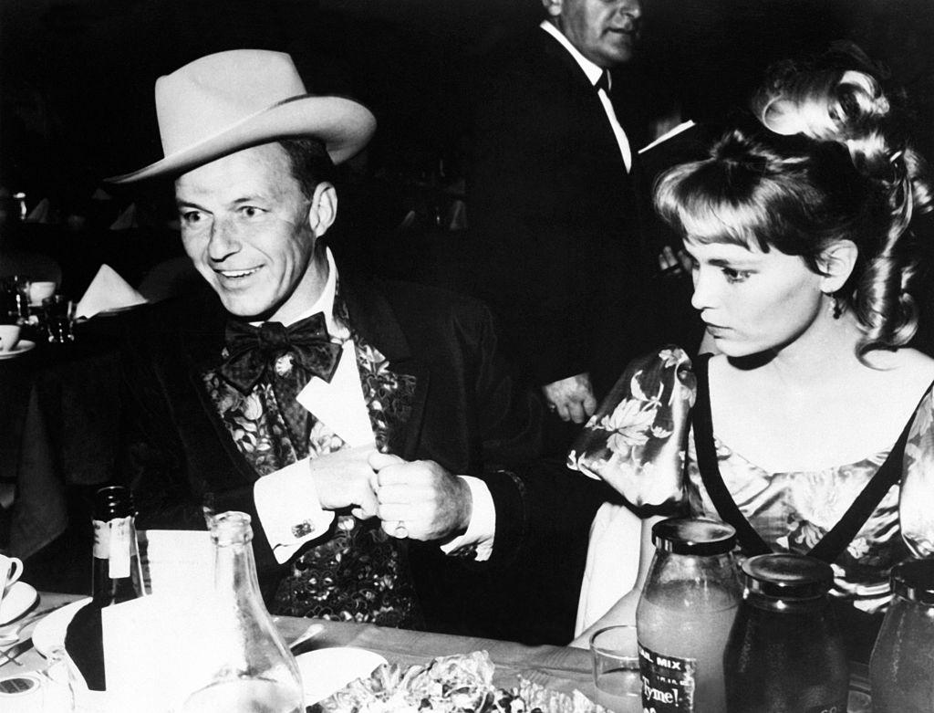 Frank Sinatra and Mia Farrow in 1965