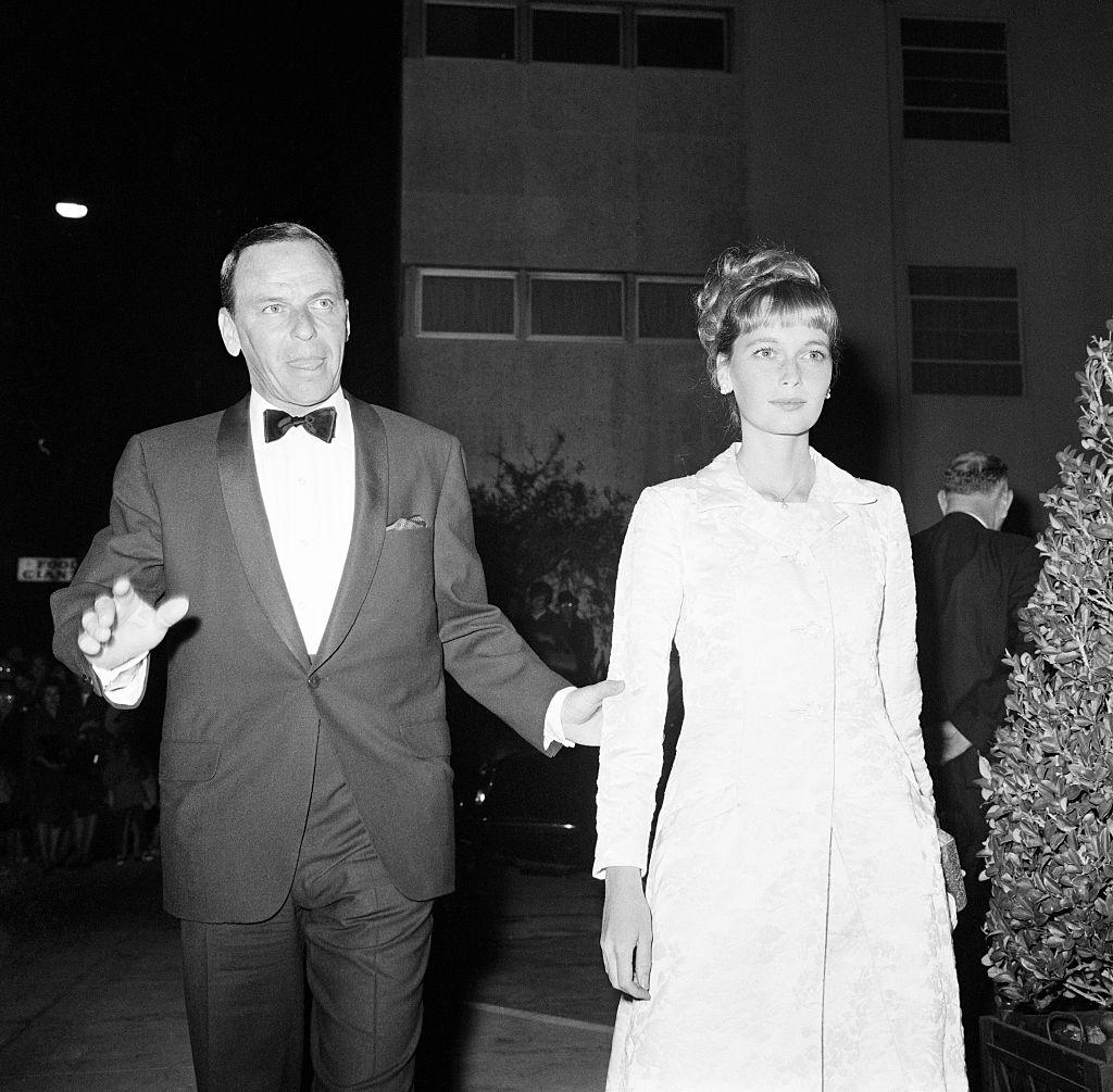 Frank Sinatra and Mia Farrow, 1965