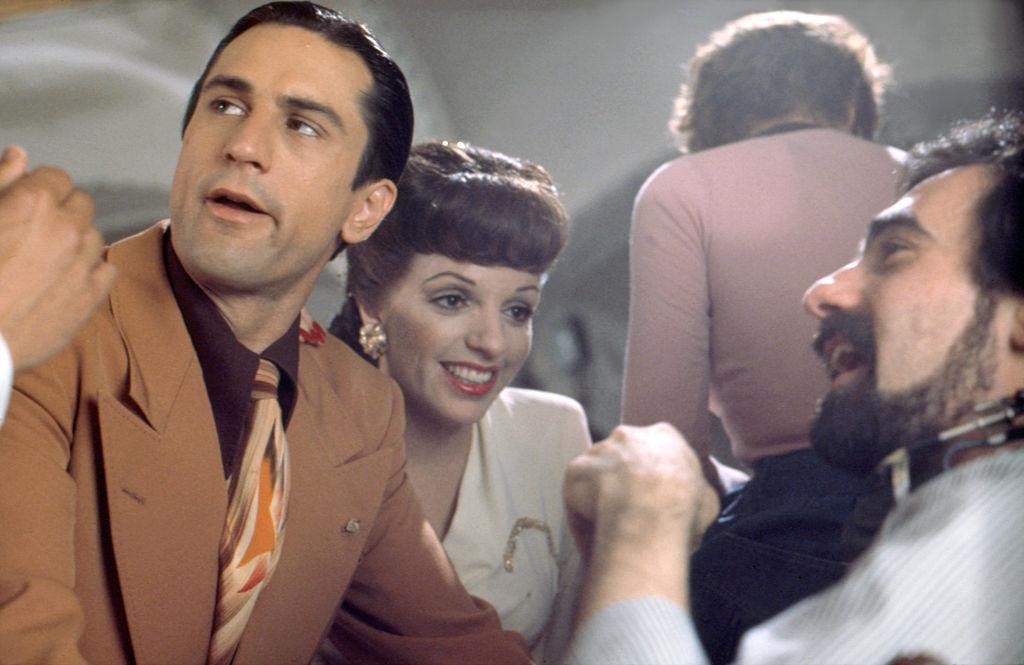 Robert De Niro (left) and Liza Minnelli on the set of 1977's 'New York, New York'