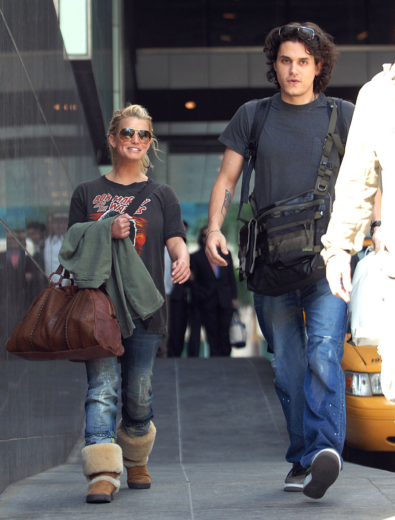 Jessica Simpson and John Mayer in 2007