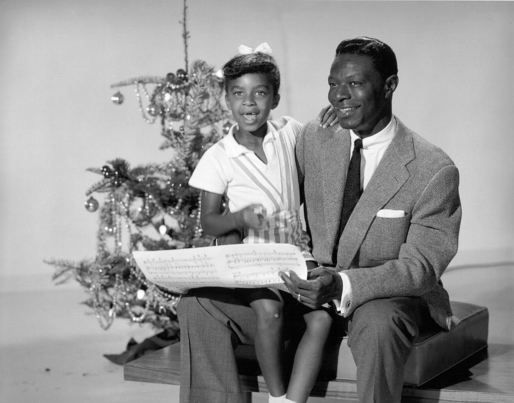Nat King Cole and his daughter, Natalie