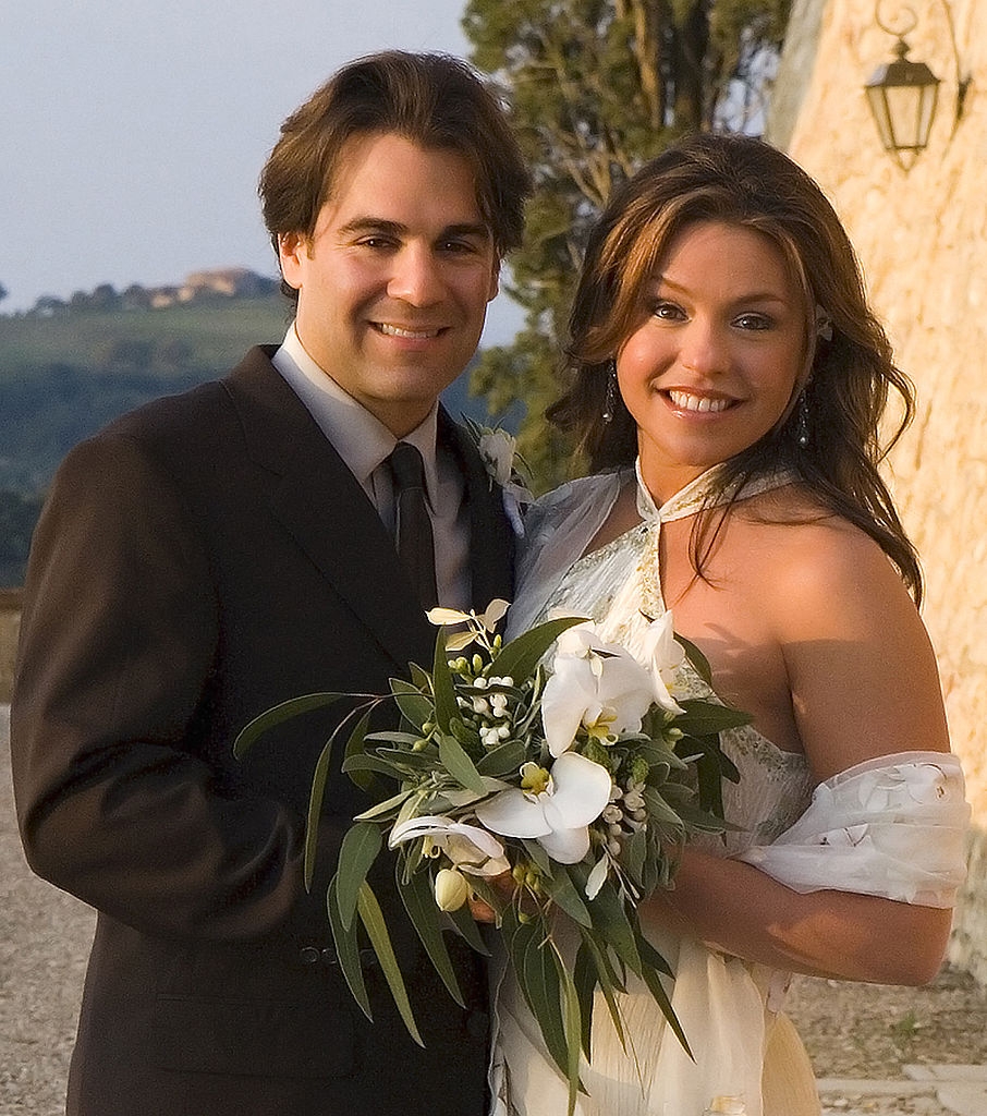 John Cusimano and Rachael Ray on their wedding day, 2005