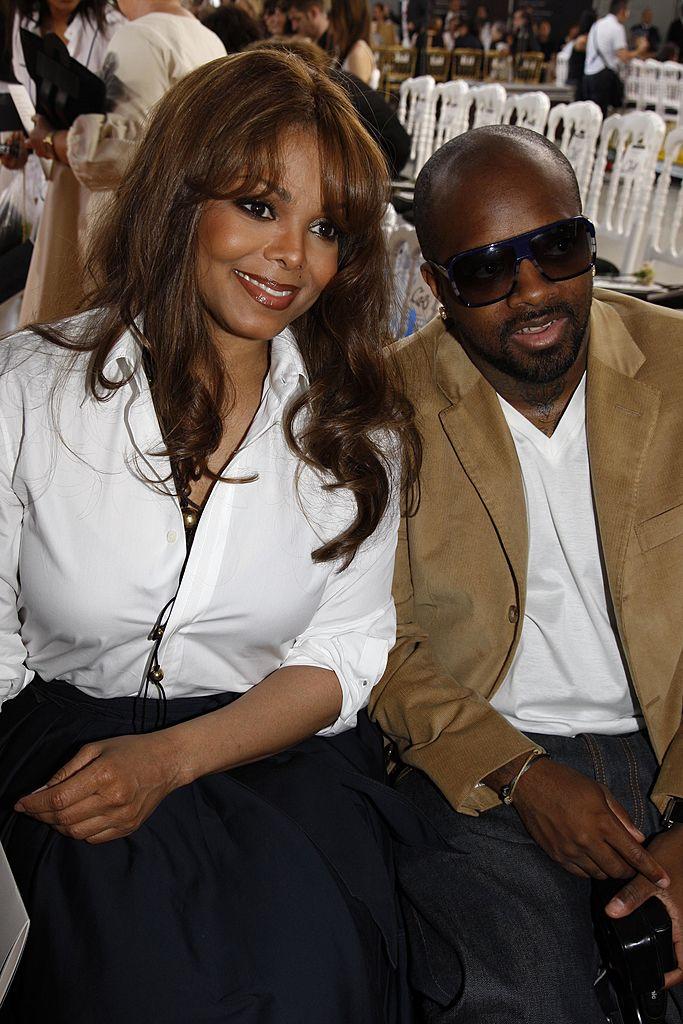 Janet Jackson and Jermaine Dupri