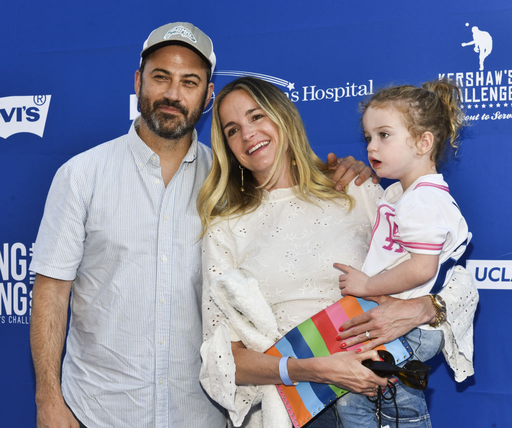 Jimmy Kimmel and family