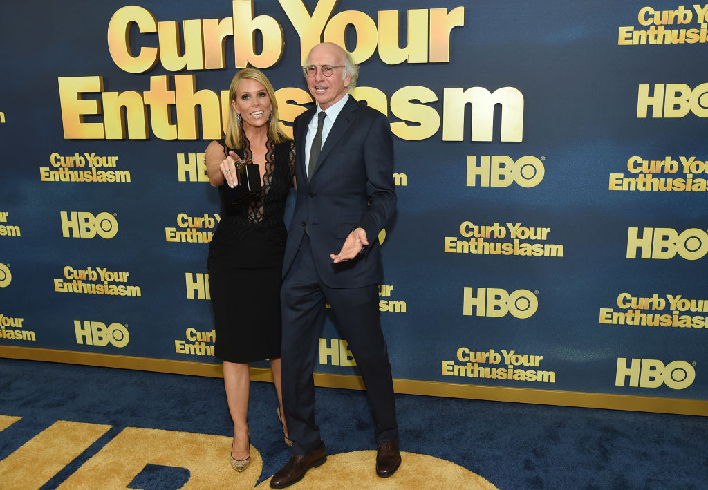 Cheryl Hines and Larry David of 'Curb Your Enthusiasm'