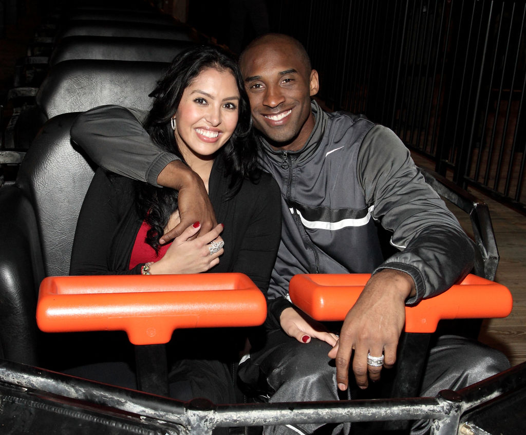 Vanessa Bryant and Kobe Kryant