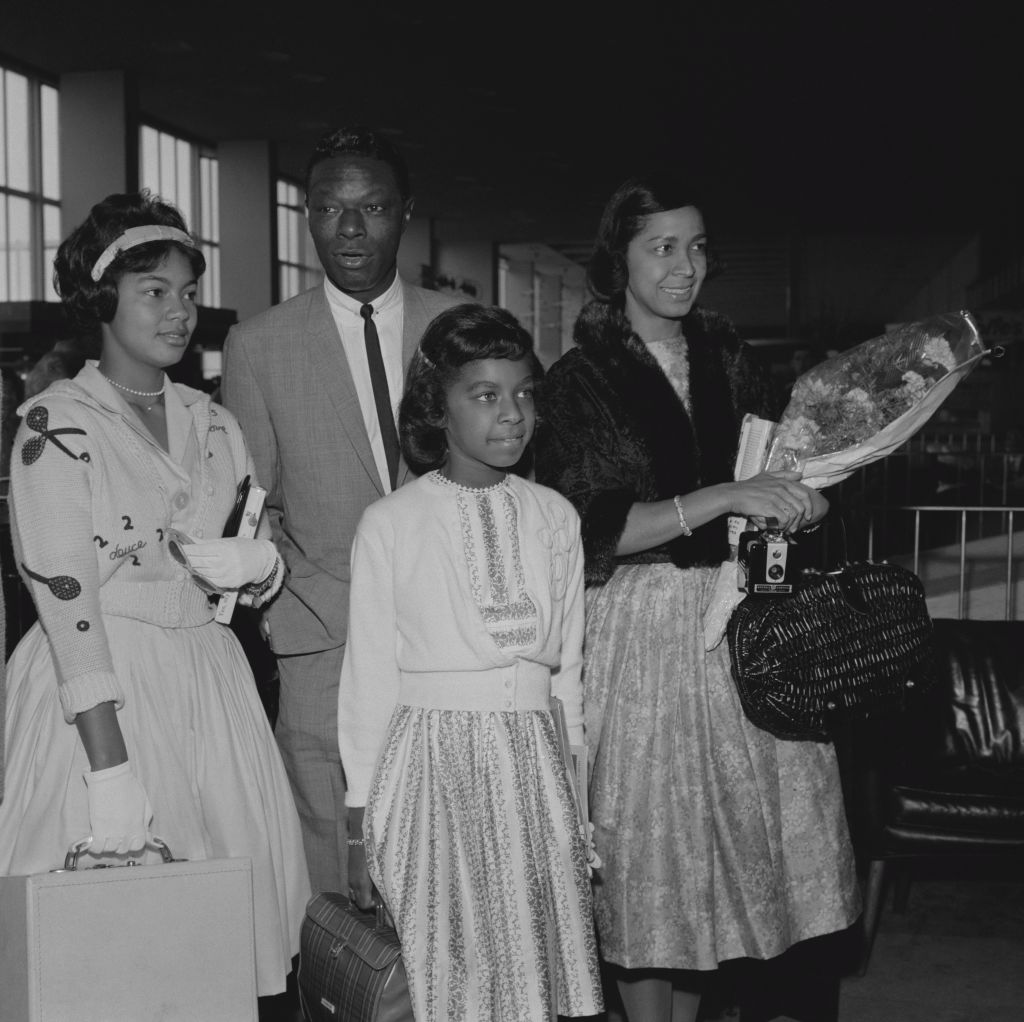 Nat King Cole and family