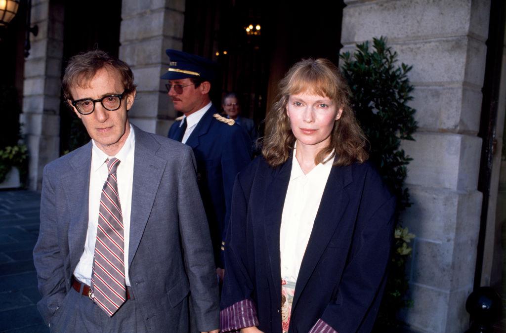 Woody Allen and Mia Farrow, 1980