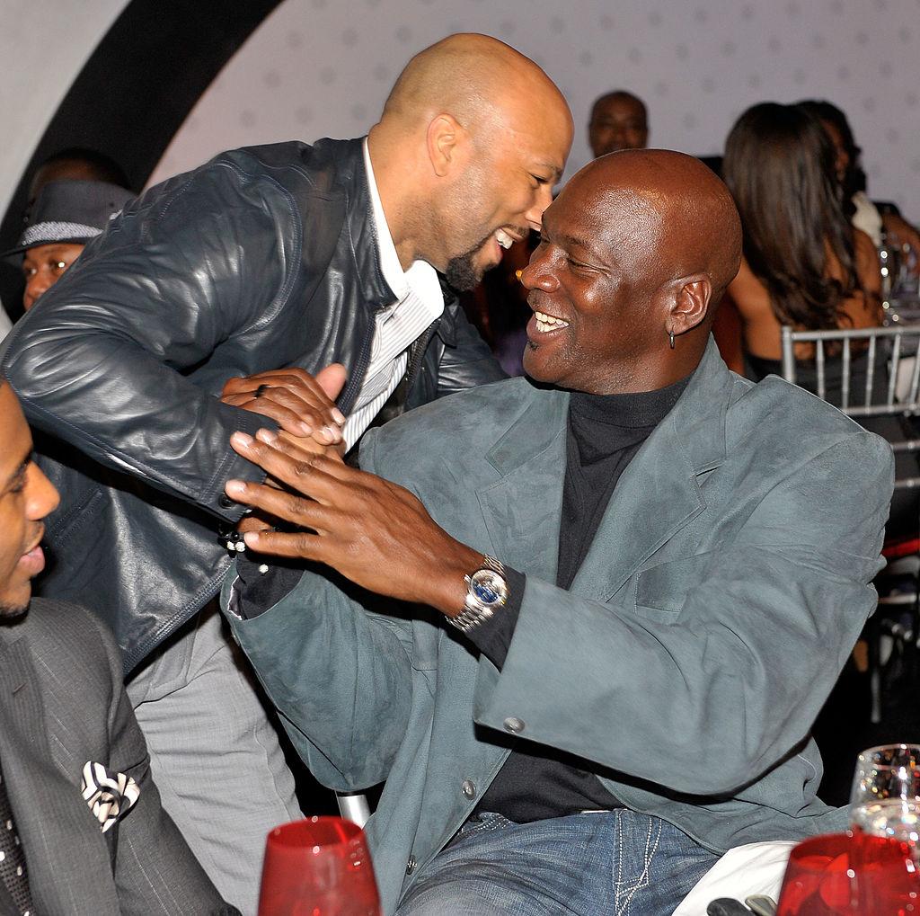 Common and Michael Jordan