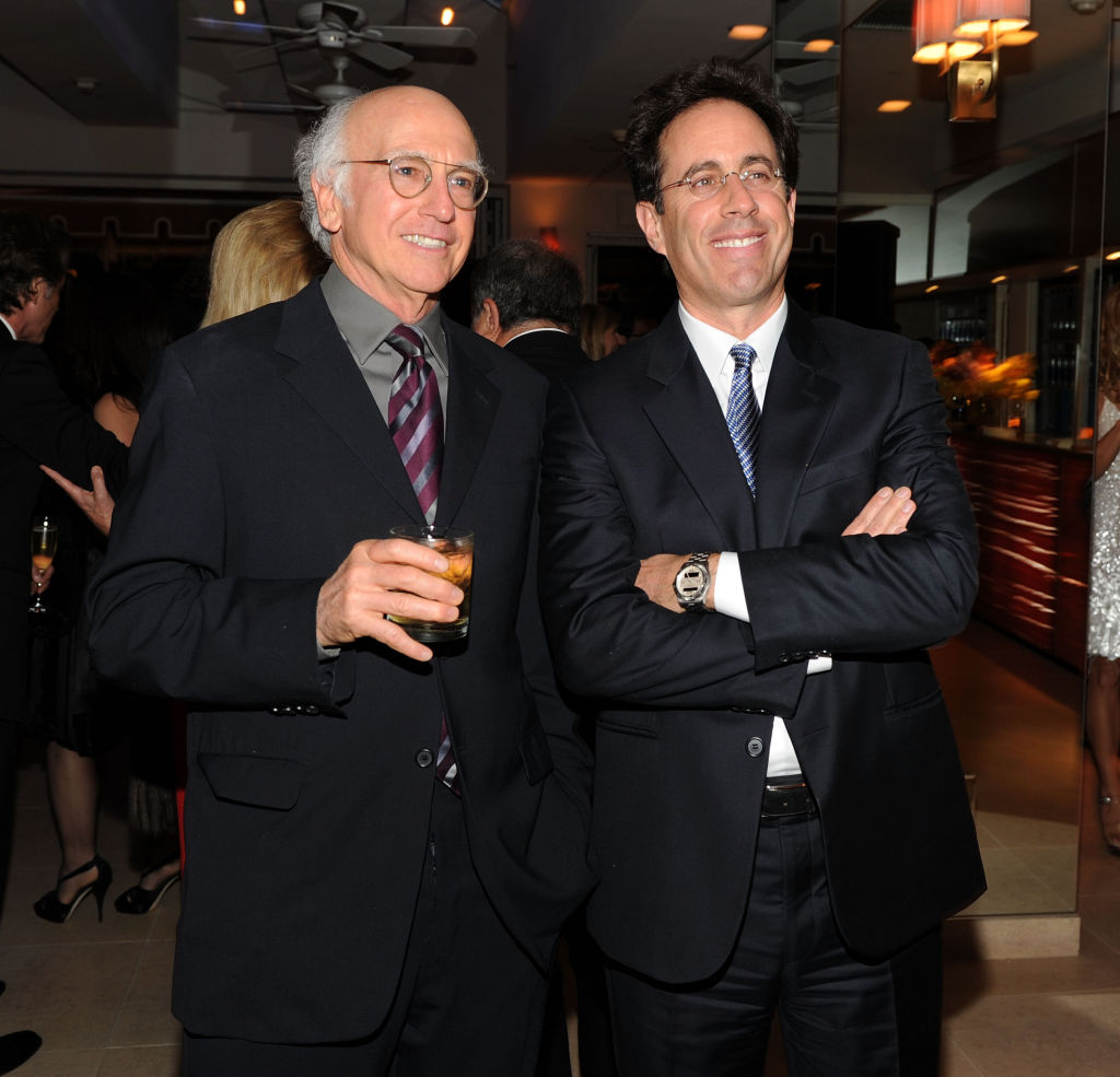 Larry David (left) and Jerry Seinfeld