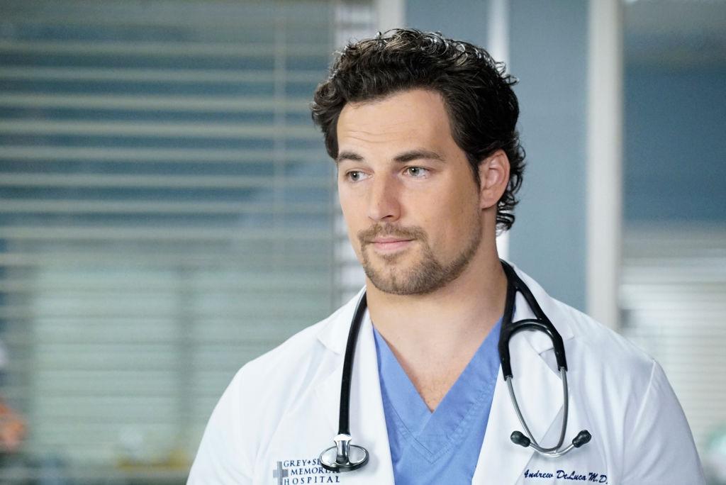 Giacomo Giannotti of 'Grey's Anatomy'