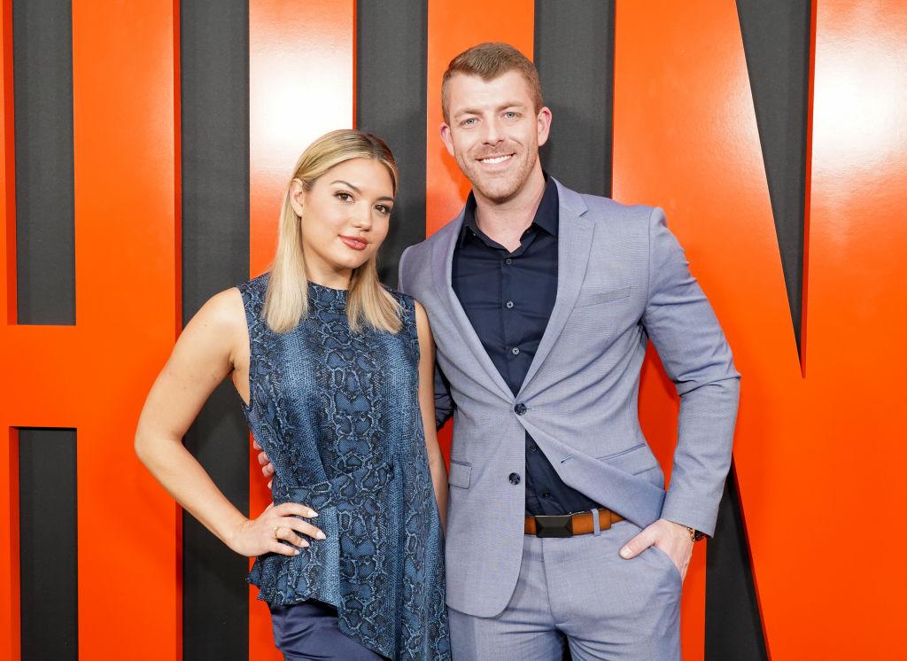 Giannina Gibelli and Damian Powers   Rachel Luna/Getty Images