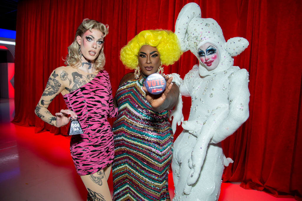Gigi Goode, Widow Von'Du, and Crystal Methyd of 'RuPaul's Drag Race Season 12'