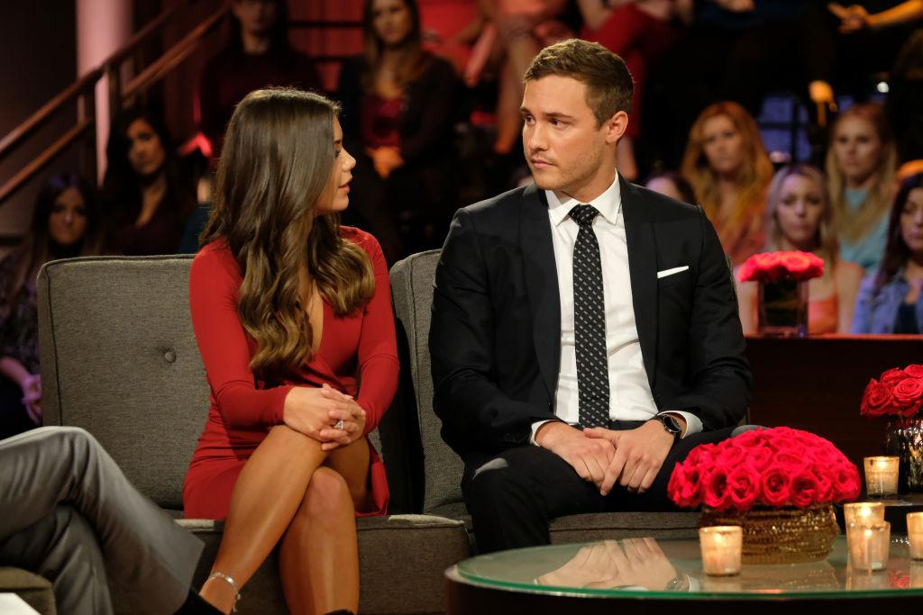 Hannah Ann Sluss and Peter Weber on 'The Bachelor'