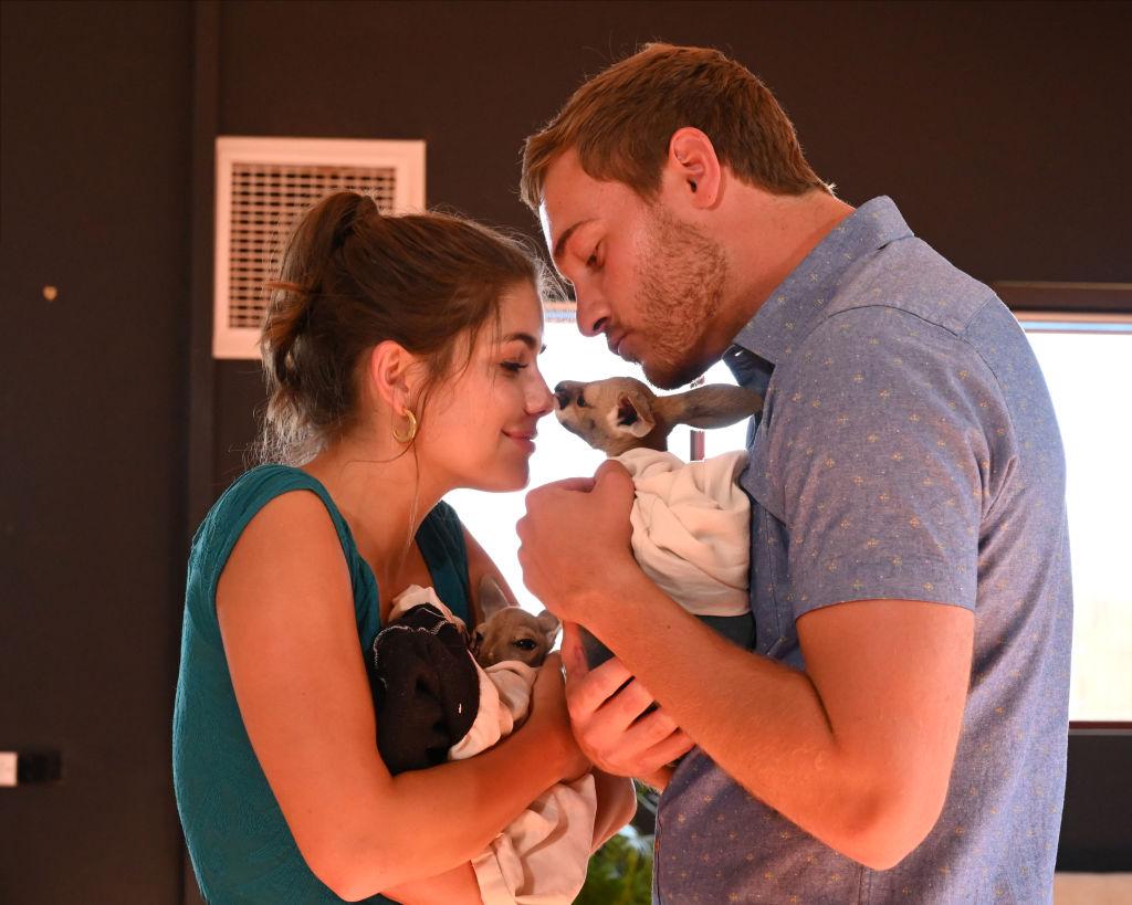 Hannah Ann Sluss and Peter Weber on 'The Bachelor: Season Finale Part 1'