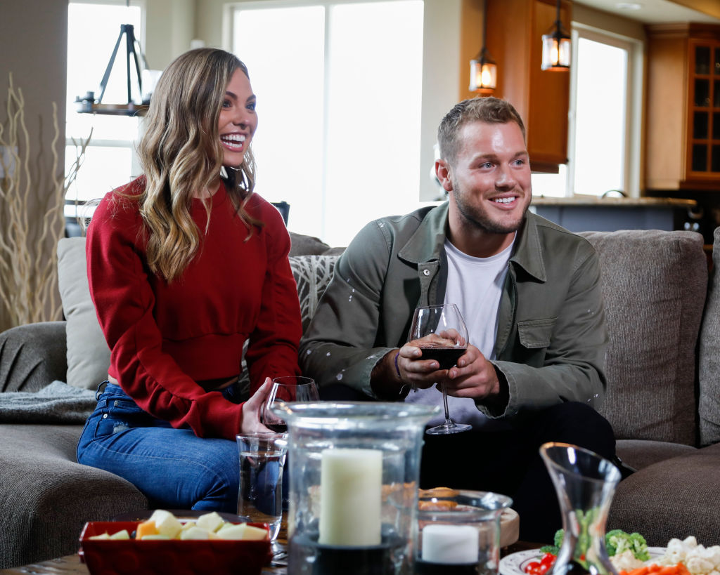 Hannah Brown and Colton Underwood   Josh Vertucci via Getty Images