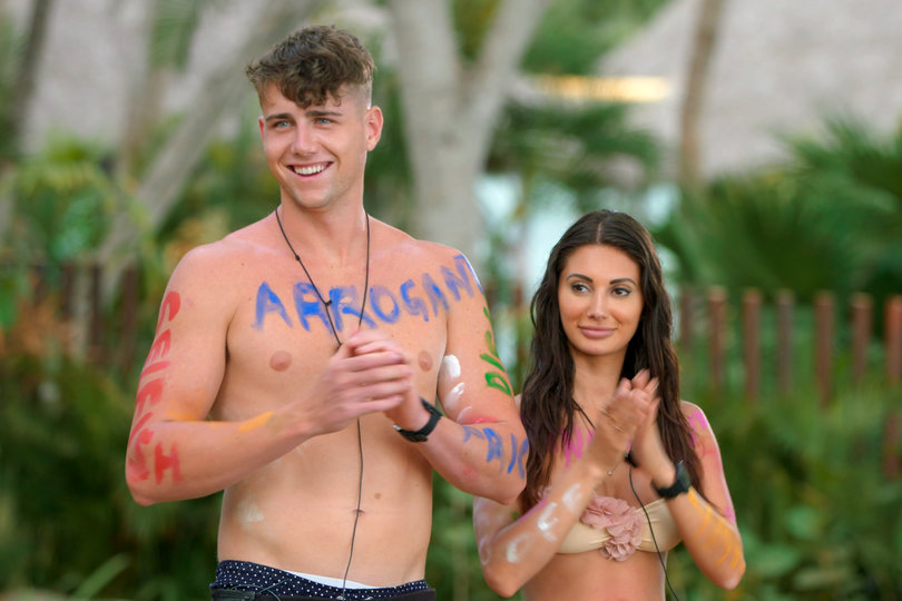Harry Jowsey and Francesca Farago of 'Too Hot to Handle'
