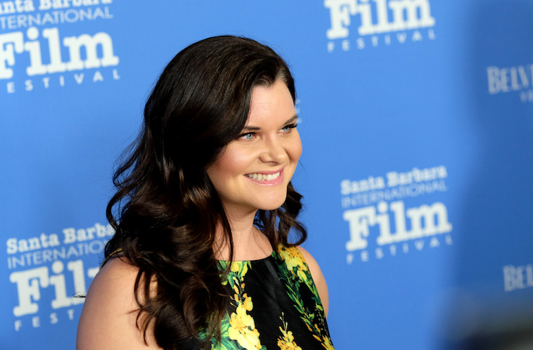Heather Tom on the red carpet