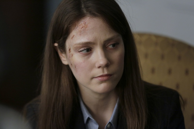 Andrea Deck as Jenna Bragg, 'Homeland'