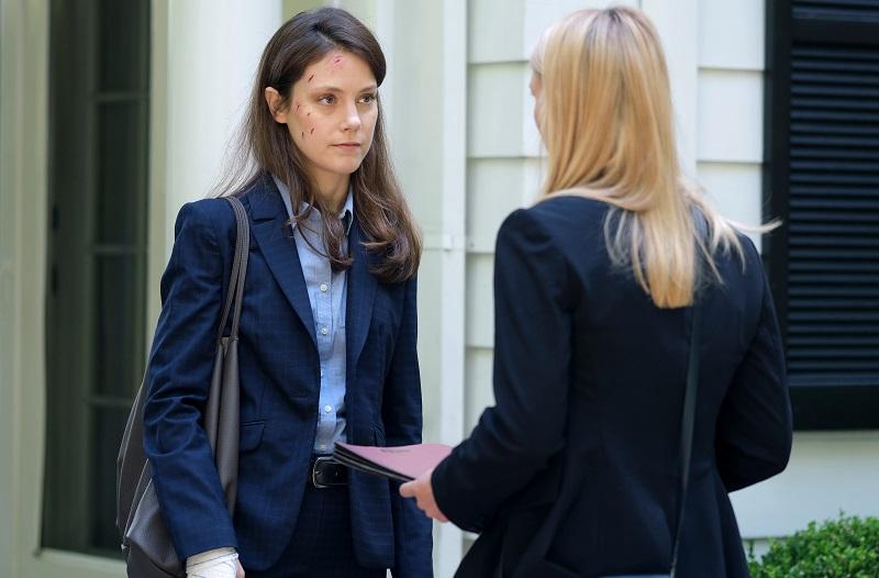 Andrea Deck and Claire Danes, 'Homeland' Season 8