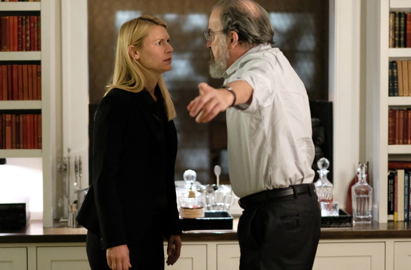 Claire Danes and Mandy Patinkin perform in 'Homeland'