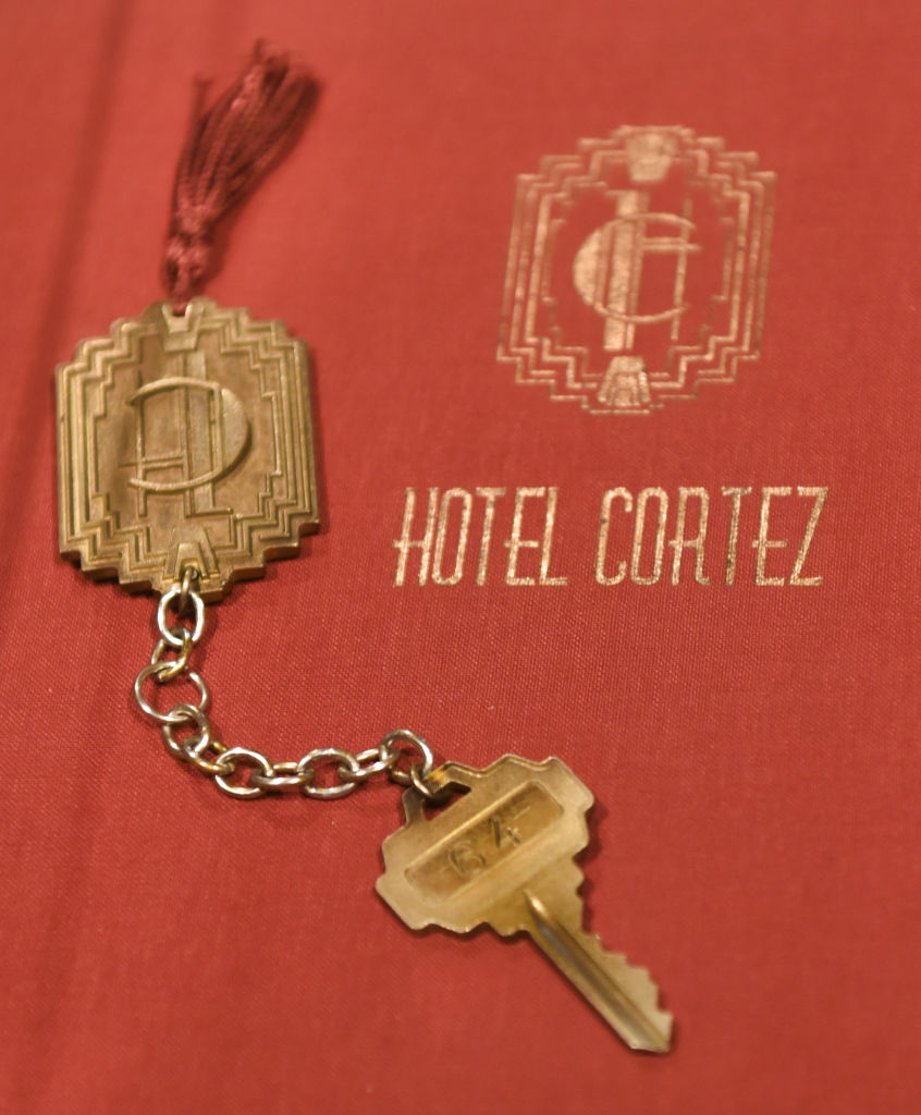 """Hotel Cortez keys at the """"American Horror Story: The Style Of Scare"""""""