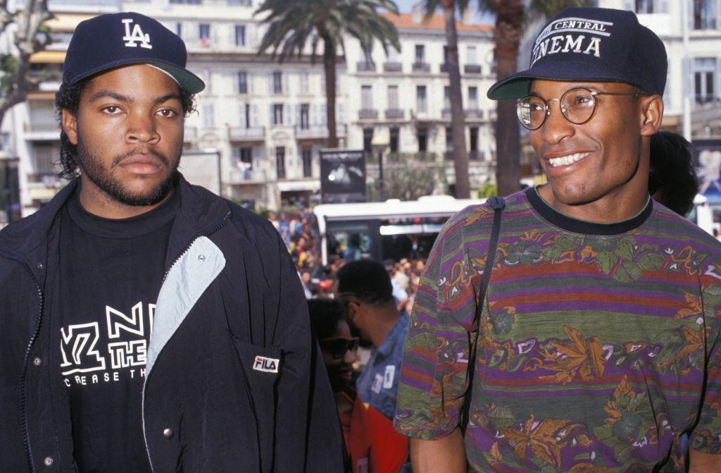 Ice Cube and John Singleton