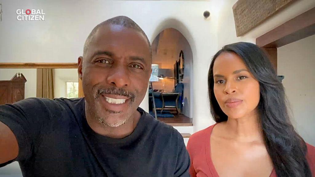 Idris Elba and wife Sabrina Elba speak on coronavirus