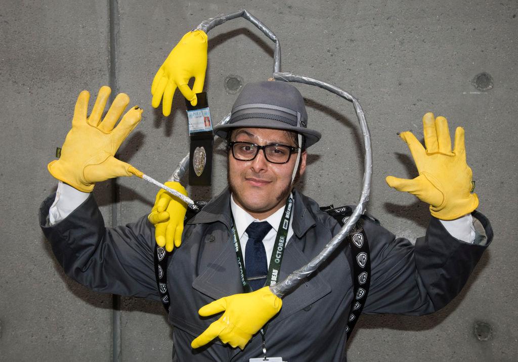 Salvador Solos as Inspector Gadget at San Diego Comic-Con 2018