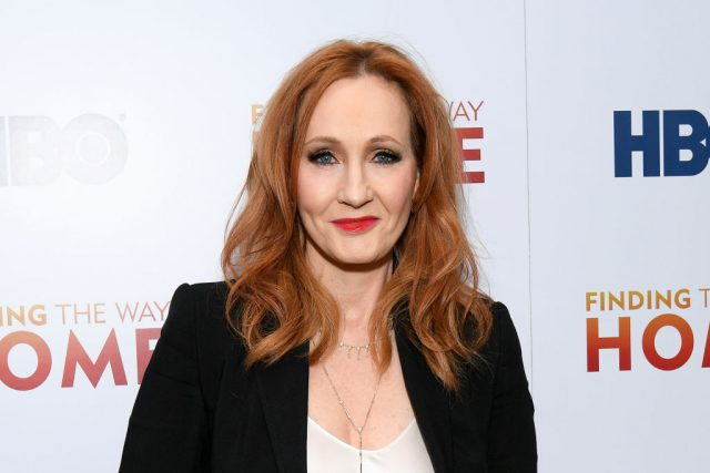 J.K. Rowling at the premiere of HBO's 'Finding The Way Home'