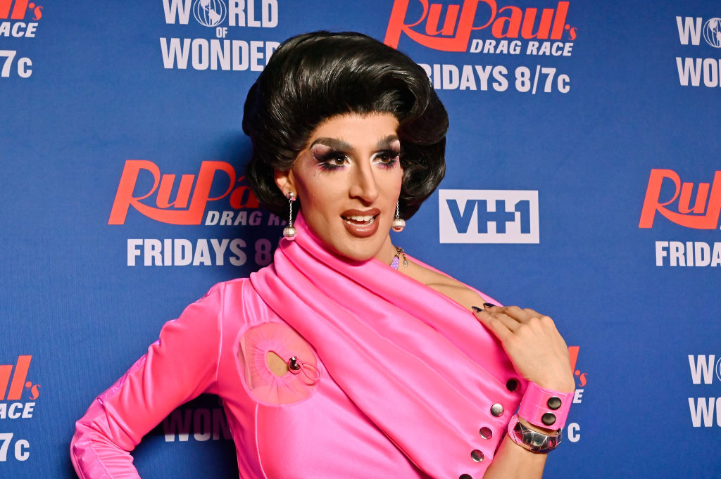 Jackie Cox attends  'RuPaul's Drag Race Season 12' Meet the Queens