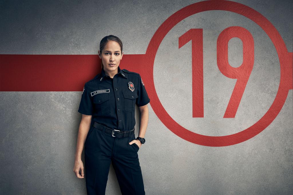"ABC's Station 19 stars Jaina Lee Ortiz as Andy Herrera on ABC's ""Station 19"" - Season 2"
