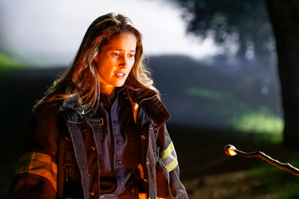 Jaina Lee Ortiz as Andy Herrera on 'Station 19' - Season 3