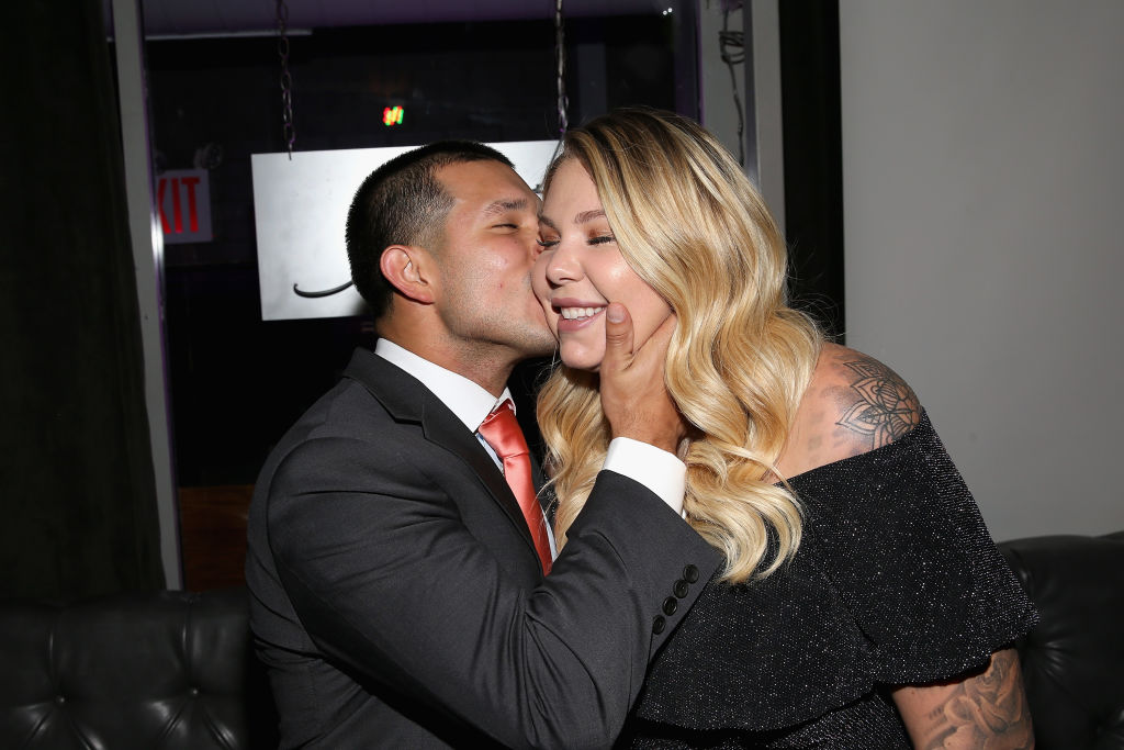 Javi Marroquin and Kailyn Lowry   Bennett Raglin/Getty Images for WE tv