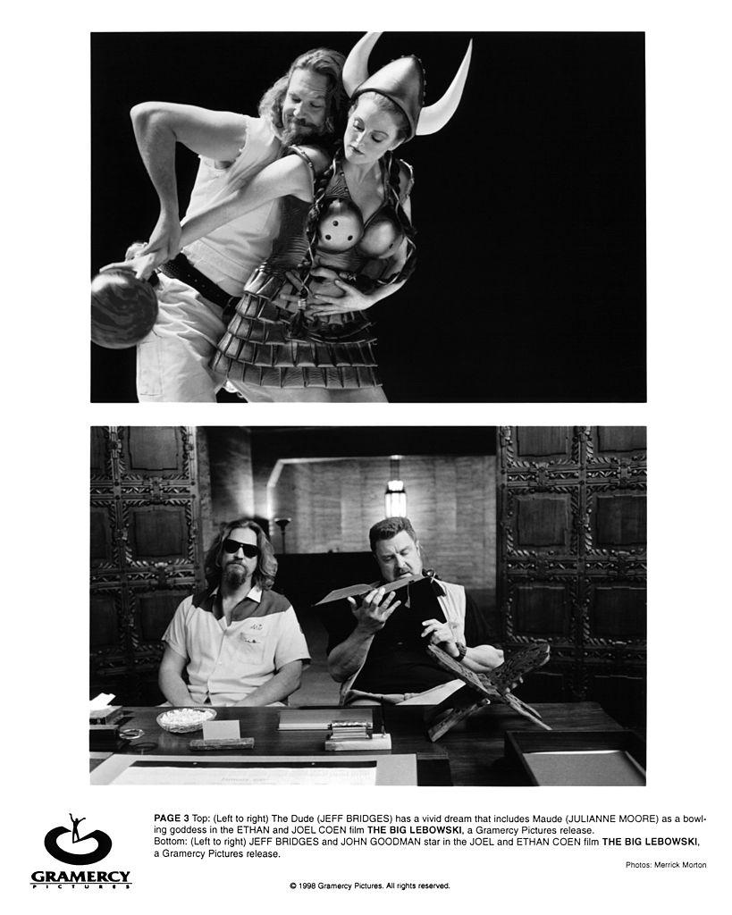 Jeff Bridges and Julianne Moore