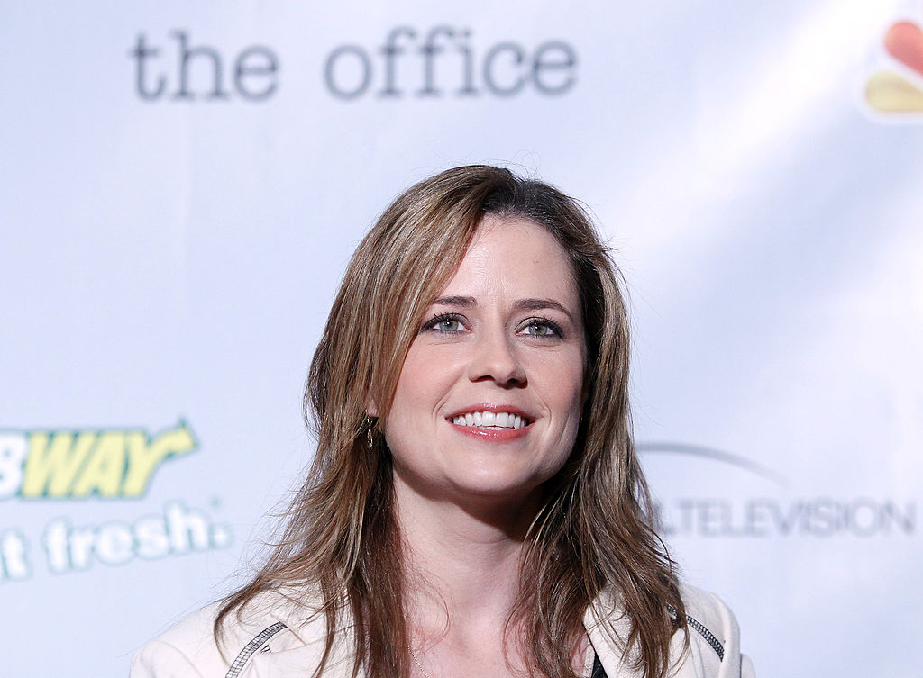 """Jenna Fischer arrives at """"The Office"""" series finale wrap party"""